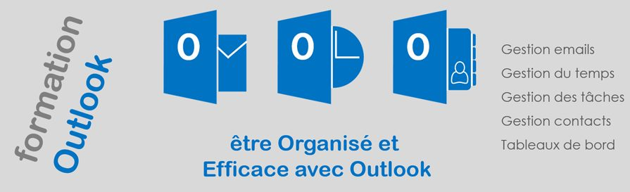 formation Outlook pour être organisé et efficace