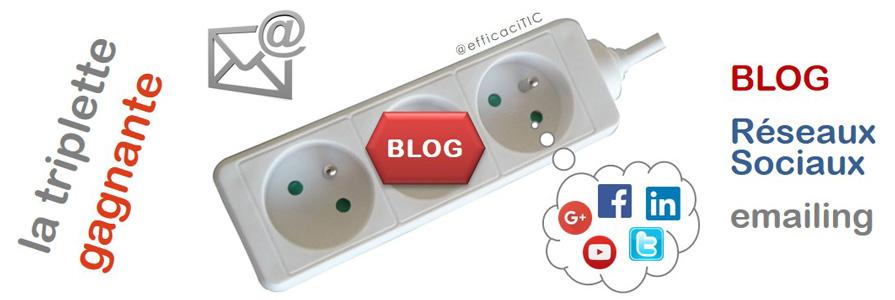 la triplette gagnante : blog, réseaux sociaux, emailing