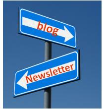 blog ou lettre d'information ?
