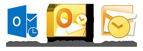 logos Outlook 2013, 2010 et 2007