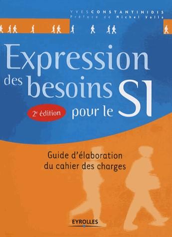 couverture du livre Expression des besoins pour le SI