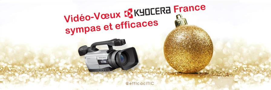 video-voeux Kyocera France sympas et efficaces