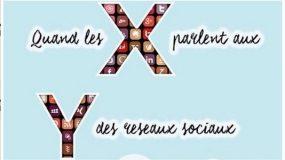 débat : quand la génération X parle des réseaux sociaux à la génération Y