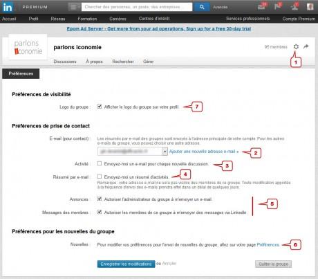 image écran LinkedIn article efficaciTIC