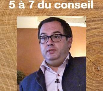 5 à 7 du conseil avec Cyril Bladier