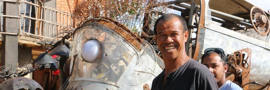 Dieudonné & Violette, entrepreneurs malgaches humanistes