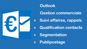 formation Outlook gestion commerciale