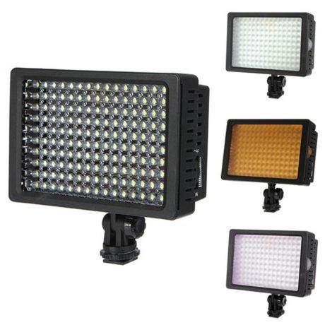 HD-160 Torche vidéo LED caméra DV Eclairage 5400K