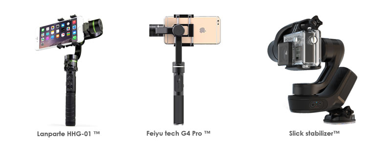 gimbals alternatifs : Lanparte Feiyu Slick