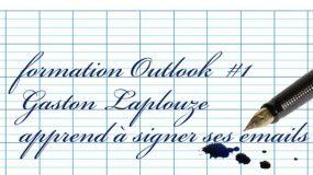comment mettre une signature sur ses emails Outlook