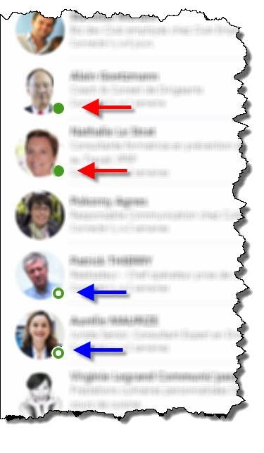 Gérer le statut actif de son profil Linkedin