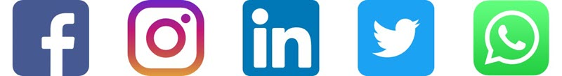 logos Facebook Instagram LinkedIn Twitter WhatsApp