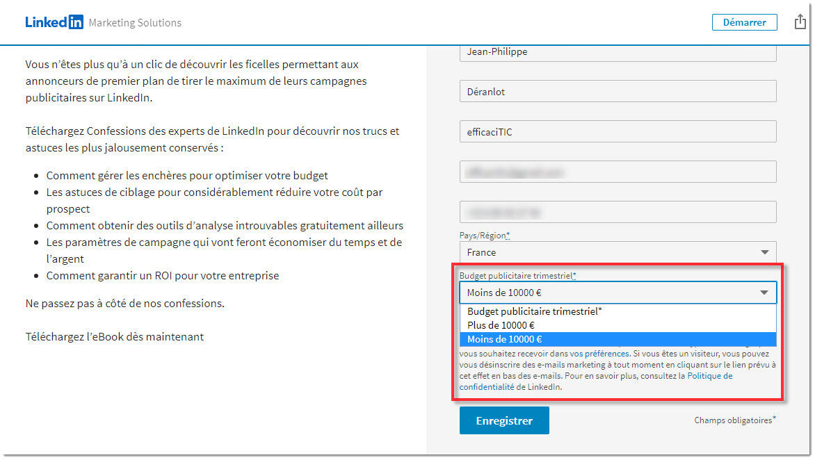 téléchargement du eBook Confessions of the LinkedIn Insiders