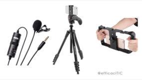3 accesoires de base pour faire ses vidéos pro avec son iPhone