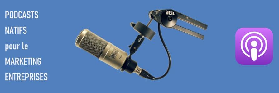 podcast marketing de marques