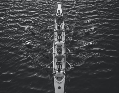 leadership engagé aviron